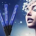 Moda À Prova D' Água Batom Batom Matte Maquiagem Batom Matte de Veludo Preto Azul Lápis Labial Lip Gloss de Longa Duração VDL74 P50