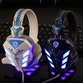 Gaming Headset Gamer Casque Audio Big Auricular Resplandor Luminoso Auriculares para Pc Con Micrófono Mic Head Teléfono Headfone