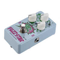 Hot BIYANG FZ-10 BABY BOOM Series 3 Modes Fuzz Guitar Effect Pedal True Bypass Full Metal Shell With FUZZ control knobs