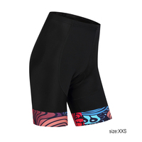 2017 Women Cycling Shorts Pants Comfortable Breathable Quick Dry 3D Cushion Padded Bicycle Bib MTB