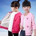 Roupa criança crianças roupas outerwear outono e inverno outerwear zipper-up jaqueta do uniforme de beisebol casacos de inverno da menina