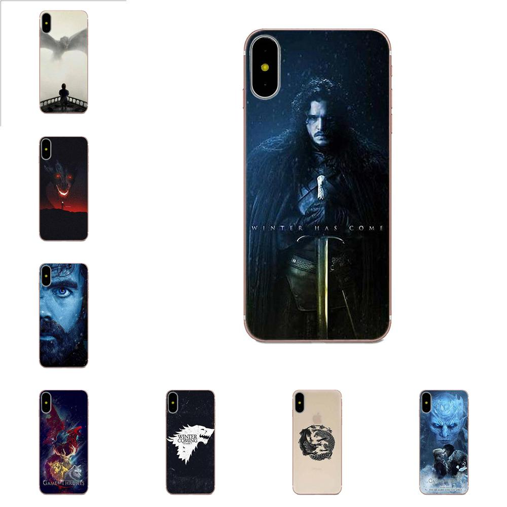 Game Of Throne Poster Soft Fashion Original For Galaxy A3 A5 A7 On5 On7 2015 2016 2017 Grand Alpha G850 Core2 Prime S2 I9082 image