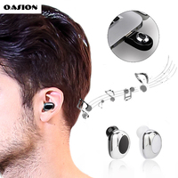 OASION Mini Wireless Bluetooth Earphone In Ear Bluetooth Earbuds Hands Free Bluetooth Headset With Microphone For