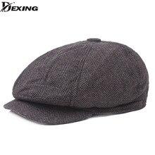 Los hombres boina vintage espiga Gatsby de peaky blinders sombrero vendedor  de periódicos de la boina 759424bbfac