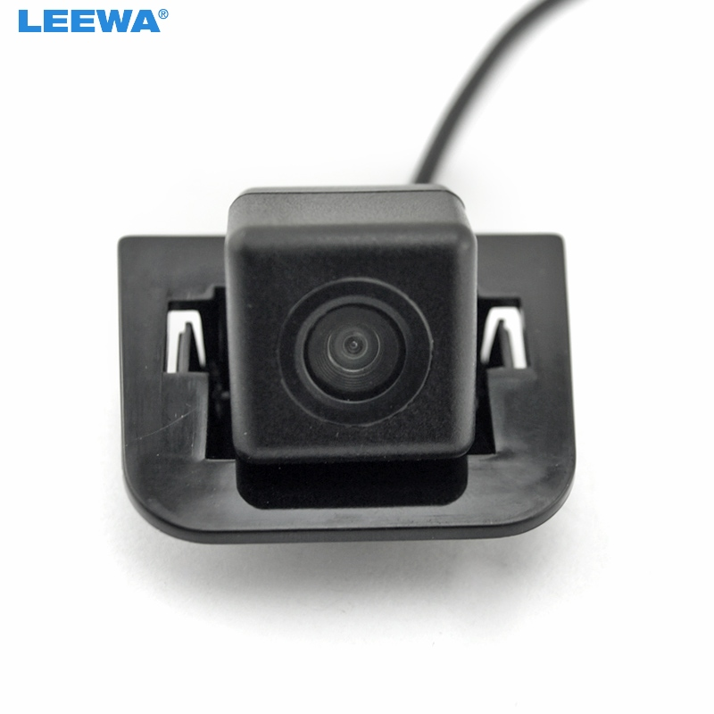 LEEWA HD Special Rear View Backup Car Camera For Toyota Prius 2012 Reversing Parking Camera #CA5207 leewa for volkswagen golf6 magotan beetle scirocco bora polo passat b7 hd auto backup rear view car camera ca4828