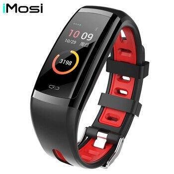 Bracelet intelligent CD09 moniteur de fréquence cardiaque Tracker de Fitness Bracelet de suivi GPS IP67 étanche Sport Smartband pour Android IOS
