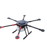 6 axis plant protection uav rack 10kg plant spray UAV for 10L box DIY Frame around Spray insecticide.