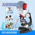 Дети 1200 раз набор научных экспериментальных учебных пособий микроскоп науки игрушки дети наука и биологический микроскоп