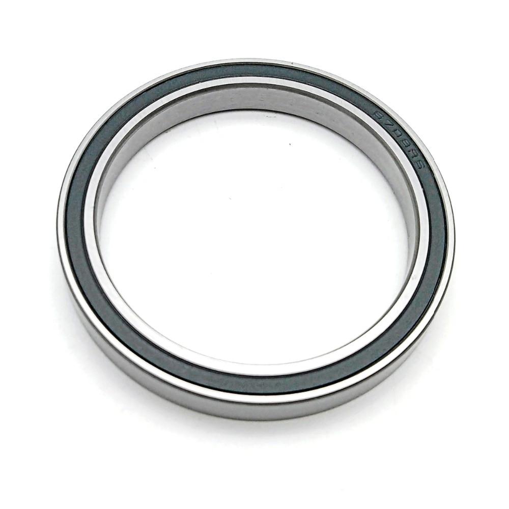 5pcs 6908-2RS Black Rubber Sealed Ball Bearing Bearings 6908RS 40x62x12 mm