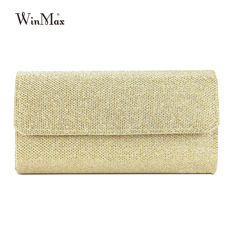 Woman Evening bag dazzling Women Gold Clutch bag Women's Evening Bags