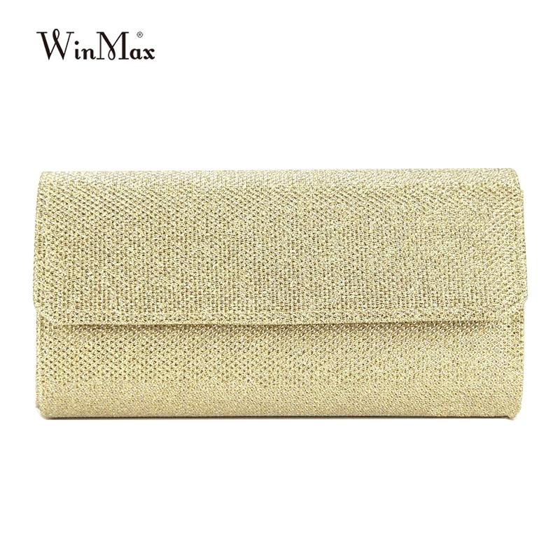 Woman Evening bag dazzling Women Gold Clutch bag Women's Evening Bags