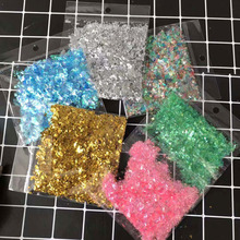 10g/pack Colorful PE Glitter Transparent Bubble Balloon Confetti Wedding Decoration Birthday Party Home Decor for Balls