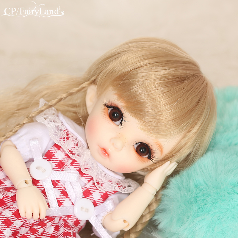 Gratis frakt Fairyland Pukifee Ante 1/8 BJD Dolls Gullig Resin Figur Fullständig Full Paket Alternativ Toy For Girls FL