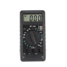 DT-182 Digital Mini Multimeter DC/AC Voltage Current Meter Handheld Pocket Voltmeter Ammeter Diode Triode Tester Multitester цена в Москве и Питере