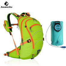 Waterproof Cycling Motorcycle Backpack+2L Water Bag Outdoor Sports Climbing Riding Cycling Travel Bag Sport Rucksacks Knapsack