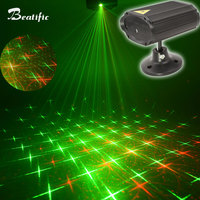 Mini Party Lights Music Color Change Disco Light DJ Dance Lumiere Voice Control 8 Patterns With Remote