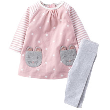 2016 New Baby Clothing Set Winter Children's Clothing Suits Kids Boy Tracksuit Child Sports Suit Baby Girls Clothes 2-7Y