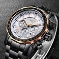 Посмотрите на мужские LIGE мужские часы военный бренд Роскошные Спортивные Повседневные водонепроницаемые мужские часы кварцевые мужские н...