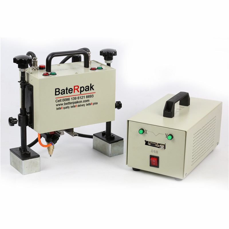 QD05 BateRpak Handheld pneumatic marking machine,Portable industrial tag machine,metal parts engraving machine  цены