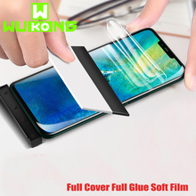 WuKong Full Cover Hydrogel Film For Huawei Mate 20 Pro 10 Lite Glue Screen Protector X TPU Soft