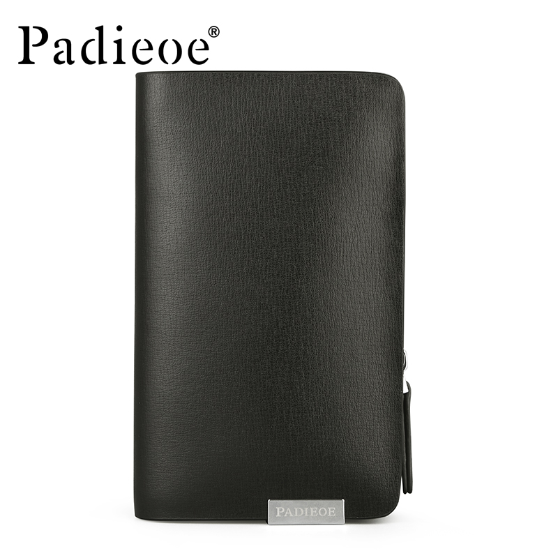 Padieoe Brand Split Cow Leather Purse Unisex Housekeeper Designer Brand Men 39 s Key Bag High Quality Key Wallet Key Holder For Car in Key Wallets from Luggage amp Bags