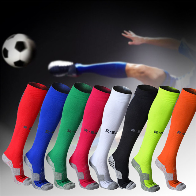 5e669233e3 Cotton Men Male Football Socks Soccer Outdoor Running Basketball Socks  Sport Compression Stockings