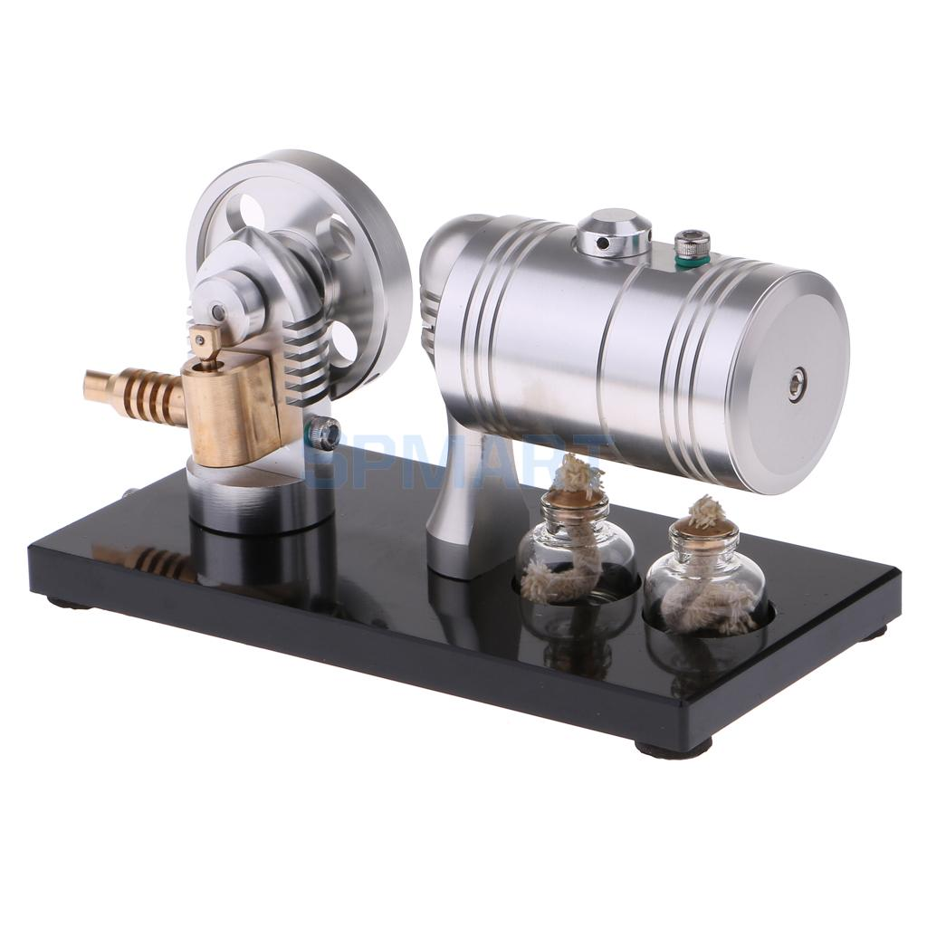 Hot Air Steam Engine Motor Kit Education Model Novelty Christmas Toys Xmas Gifts for Kids Children Adults Presents
