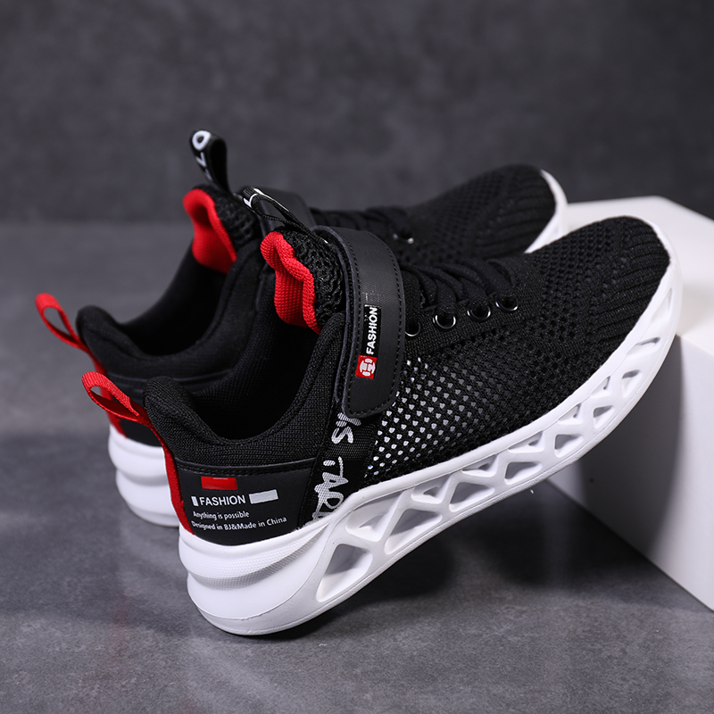 Boys shoes mesh breathable single net shoes summer children 39 s mesh hollow boy sports shoes big boy in Sneakers from Mother amp Kids