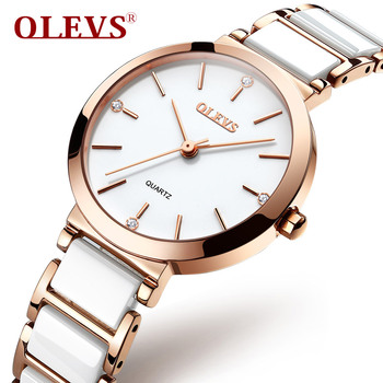 OLEVS Women Watches New Party Club Fashion Rhinestone Dress Ladies Watch Waterproof Quartz MIYOTA MOVEMENT 5877