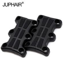 JUP 1-50 Pairs Black Boys Magnetic Shoes Decorative Buckles Child Adult No Tie Shoelaces Buckle Sneaker Luminous