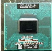 Lntel laptop Core 2 Duo T9500 CPU 6 Mt Cache/2,6 GHz/800/Dual-Core Socket 479 Laptop prozessor für (arbeiten 100% Freies Verschiffen)