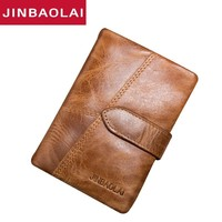 Original Genuine Leather Wallet Top Quality Wallets Luxury male wallet Dollar Price fashion Purse Coin Bag Carteira Card Holder