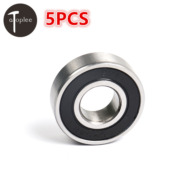NEW 5PCS MiniSYBS Bearing 6200,6201,6202,6203,6204-2RS 10-20mm Low Speed Ball Bearings For Model Toys Furniture Accessories 4pcs new for ball uff bes m18mg noc80b s04g