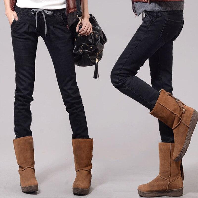 pantalon taille haute femme elastic skinny jeans woman pants trousers stretch denim hiphop calca