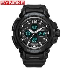 цена SYNOKE G Waterproof Alarm Mens Watches Top Brand Luxury S-SHOCK Digital Led Sports Watch Men Clock Wristwatch Relogio Masculino онлайн в 2017 году