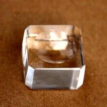 Feng Shui Pink Crystal Ball Glass