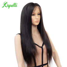 hot deal buy malaysian full lace human hair wigs remy hair straight wig with baby hair natural pre plucked hairline full end for black women