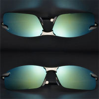 2017 Cool Polarized Travel Driver Sunglasses Men Women Luxury Mirrored Male Female Sun Glasses For GV01