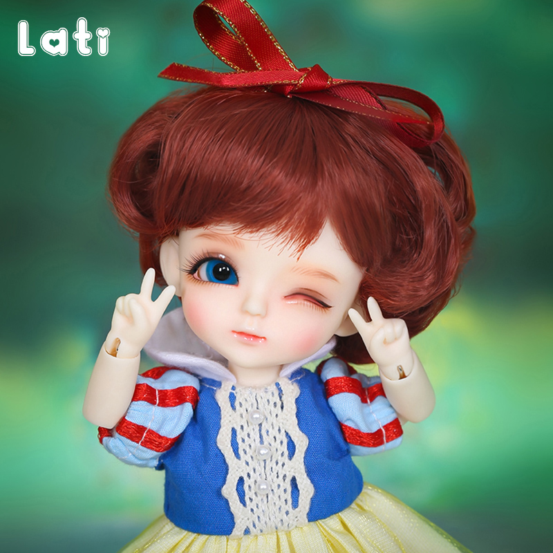 Lati Yellow Luna BJD Dolls 1/8 High Quality Cute Girl Toys Best Xmas Gift Luts Linachouchou Children Friends Surprise Gift