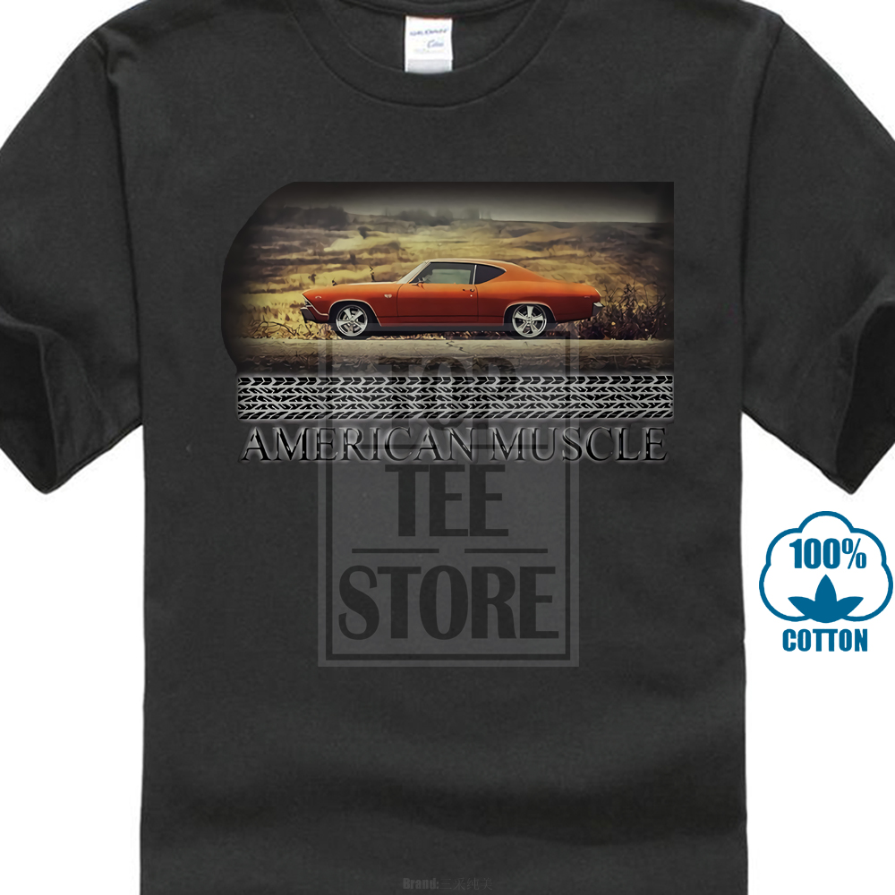 1f2ff7e8 Detail Feedback Questions about American Muscle Chevy Nova Chevelle Ss  Orange Muscle Car Tshirt on Aliexpress.com | alibaba group