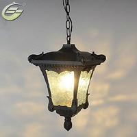 IP65 Waterproof Lamps Outdoor Porch Pendant Light Decration Balcony Pendants Lights Lighting YSL 0126PL Free shipping