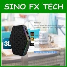 T95Z Plus 2 GB 16 GB 3 GB 32 GB Amlogic S912 Octa Núcleo Android 7.1 OS Smart TV BOX 2.4G/5 GHz WiFi BT4.0 4 K pk mini m8s pro