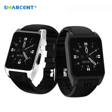SMARCENT X86 Bluetooth Smart Watch 3G Wifi 4GB Rom Android Smartwatch Relogio with 2.0M Camera Support Sim Card for HUAWEI Redmi