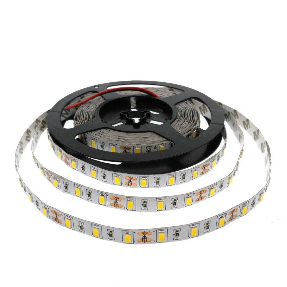 Super Bright 5730 LED Strip IP65 Suya davamlı 5M / 300LED DC12V - LED işıqlandırma - Fotoqrafiya 4