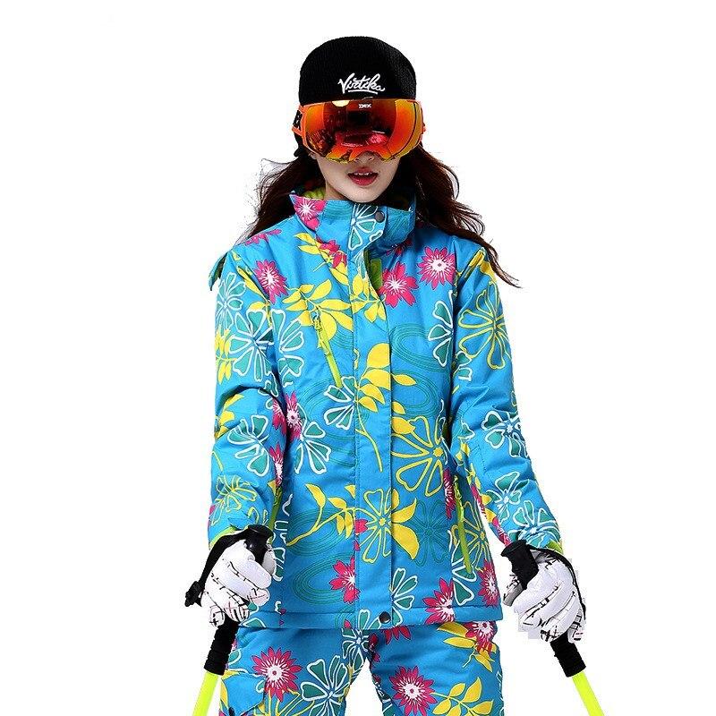 Prix pour En plein air professionnel placage à double plaque vêtements de ski coupe-vent imperméable respirant alpinisme Vestes