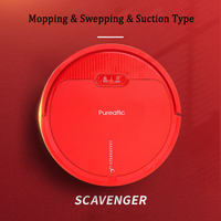 Intelligent Vacuum Cleaner Robot for Home Automatic Sweeping Dust Self Charging Mobile APP Remote Control Cleaning Robot