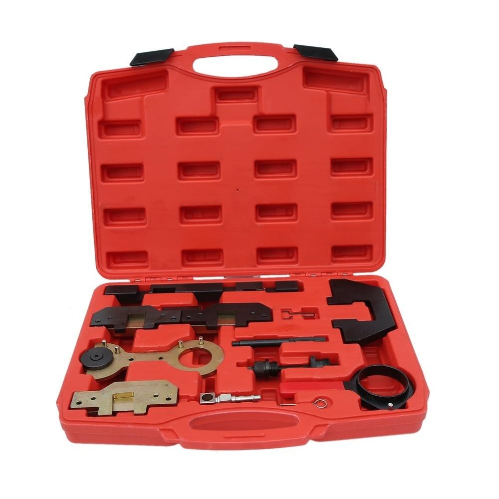 цена 11Pcs/Set Camshaft Removal Locking Engine Timing Tool For BMW M40 M43 M44 M50 M52 M54 M56 Automotive Repair Scanner в интернет-магазинах