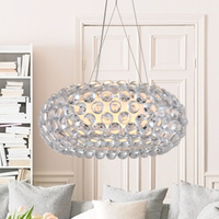 Modern Foscarini Caboche Jose Beads Pendant Lights Fixture Nordic Hanging Lamp Home Indoor Dining Room Restaurant Droplight 50cm