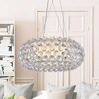 Modern Foscarini Caboche Jose Beads Pendant Lights Fixture Nordic Hanging Lamp Home Indoor Dining Room Restaurant Droplight 50cm