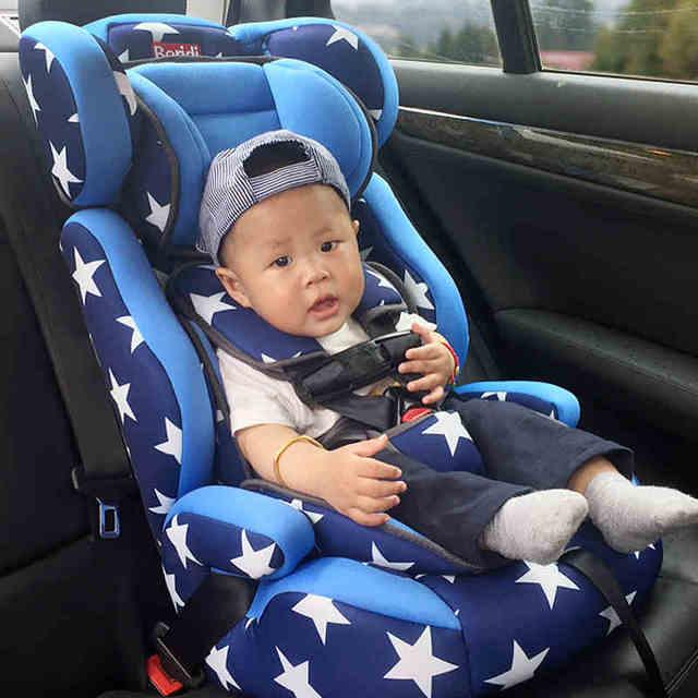 El colorido de fashional niños del asiento de seguridad para 9 meses-12 años de edad, con